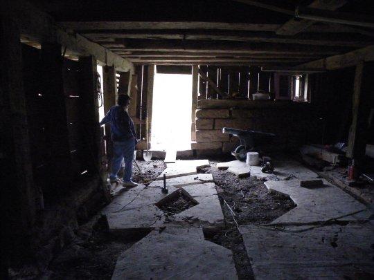 Old Barn Floor
