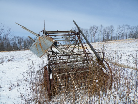 Old Fashion Hay Rake