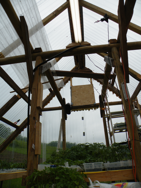 Greenhouse in Use: 2010: Center