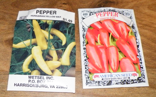Hungarian Yellow Wax and Jalapeno Early - Hot Peppers