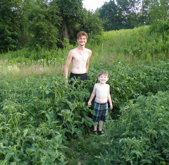 Me and the Little Gardener