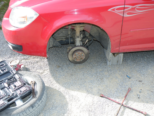 Replacing My Car's Wheel Bearing