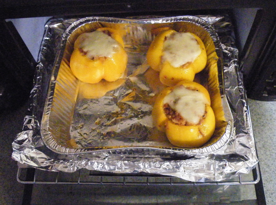 Stuffed Yellow Tomatoes