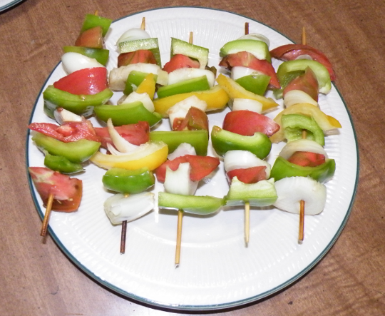 Veggies On A Stick
