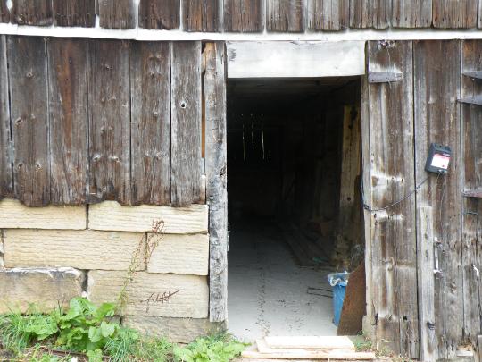 Basement Door Missing