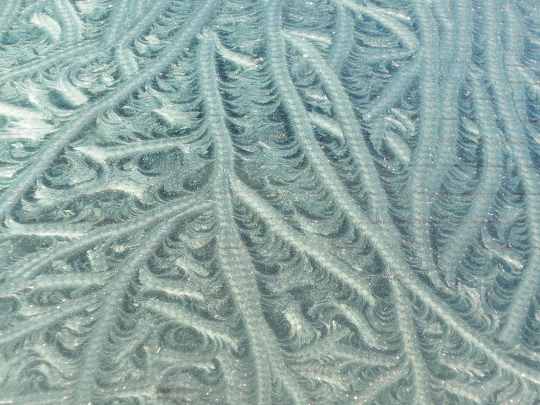 Interesting Frost Pattern