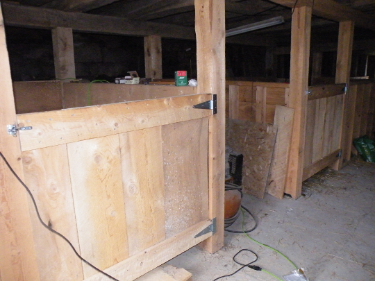 Hallway, and Pony's Stall