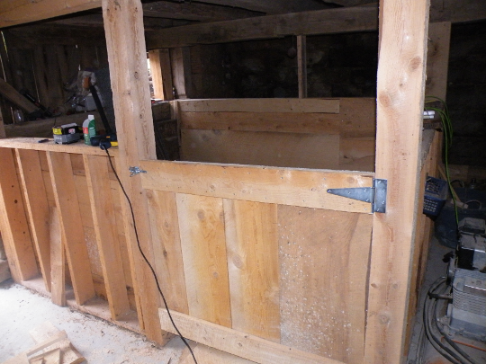 Stall Door Finished and Hung