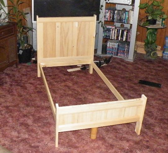 Build Toddler Bed Woodworking Plans DIY Furniture Plans