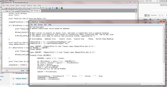 Perl Programs