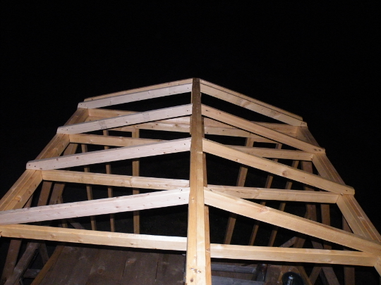 Roof Frame as Seen from the Landing