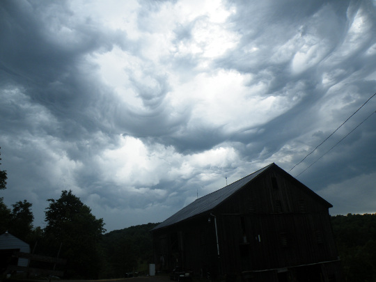 Storm Over The Barn