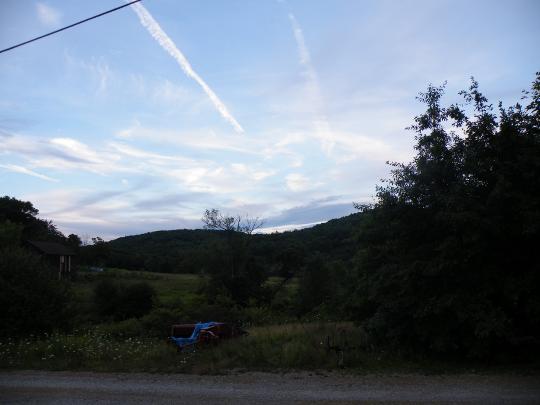 Blue Sky, Photo by Maurice Braden