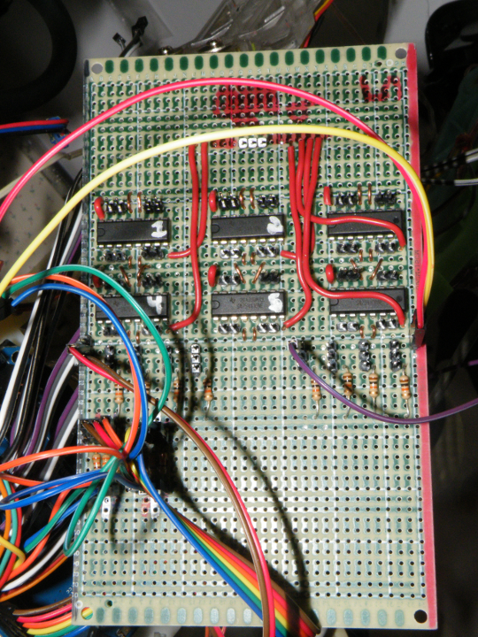 Motor Control and Wire Distribution Board